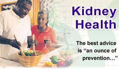 Kidney health concerns