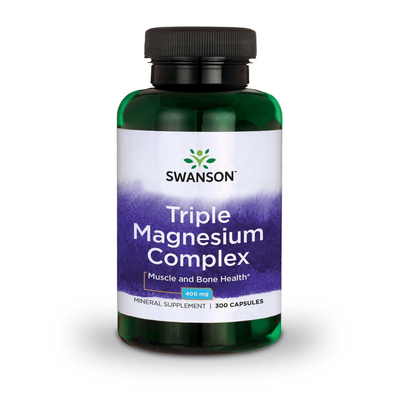 Swanson-Triple-Magnesium-Complex-Capsules-400-mg-300-Ct