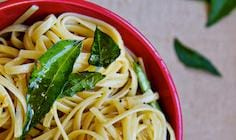 Ghee and Curry Leaf Pasta