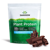 Real Food Plant Protein - Dark Chocolate Flavor