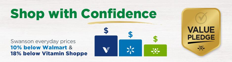 Shop with Confidence - Swanson's Value Pledge