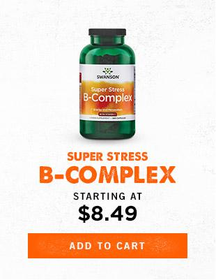 Super Stress Vitamin B-Complex - Add to cart
