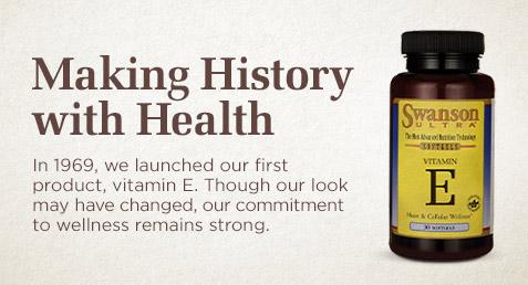 In 1969, we launched our first product, vitamin E.