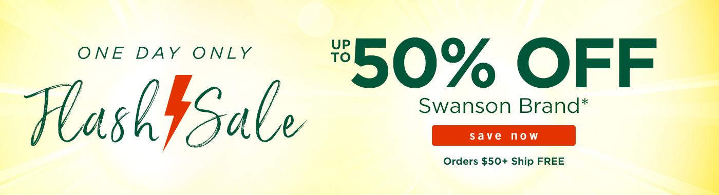 Up to 50% off Swanson