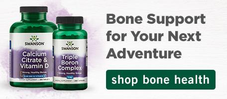 Solid Support for Bolstering Bone Health. Shop Now