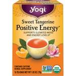 Yogi Tea Sweet Tangerine Positive Energy Tea