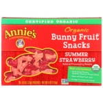 Annie's Organic Bunny Fruit Snacks - Summer Strawberry