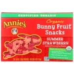 Annie'sOrganic Bunny Fruit Snacks - Summer Strawberry