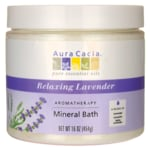 Aura Cacia Aromatherapy Mineral Bath - Relaxing Lavender