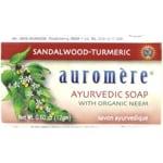 Auromere Ayurvedic Soap - Sandalwood-Tumeric
