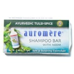 Auromere Shampoo Bar - Ayurvedic Tulsi-Spice