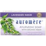 Auromere Ayurvedic Soap - Lavender-Neem