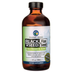 Amazing Herbs Black Seed Flax Seed Cold-Pressed Oil Blend