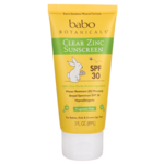 Babo Botanicals Clear Zinc Sunscreen SPF 30+ - Fragrance Free