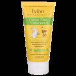 Babo BotanicalsClear Zinc Sunscreen SPF 30+ - Fragrance Free