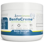 Benfotiamine, Inc.Benfocreme Extra Strength Body Butter