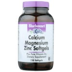 Bluebonnet Nutrition Calcium Magnesium Zinc Softgels