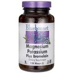 Bluebonnet Nutrition Magnesium Potassium Plus Bromelain