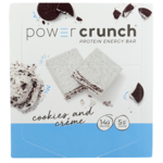 BioNutritional Research Group Power Crunch Protein Energy Bar Cookies and Cream