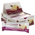 BioNutritional Research Group Power Crunch Protein Energy Bar Wild Berry Creme