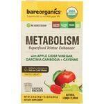 BareOrganics Metabolism Superfood Water Enhancer - Lemon