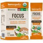 BareOrganics Focus Superfood Water Enhancer - Coconut