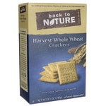 Back To NatureHarvest Whole Wheat Crackers