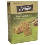 Back To Nature Multigrain Flax Seeded Flatbread Crackers