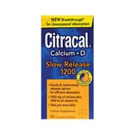 CitracalCalcium + D Slow Release