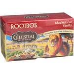 Celestial Seasonings Herbal Tea Madagascar Vanilla Red Tea Caffeine Free
