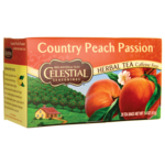 Celestial Seasonings Herbal Tea Country Peach Passion Caffeine Free