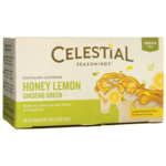 Celestial SeasoningsGreen Tea Honey Lemon Ginseng with White Tea