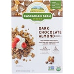 Cascadian Farm Granola Cereal - Dark Chocolate Almond