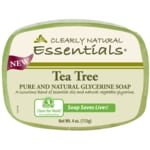 Clearly Natural Glycerine Bar Soap Tea Tree