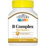 21st CenturyNatural B Complex with Vitamin C