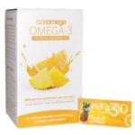 Coromega Omega-3 Tropical Squeeze + D