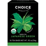 Choice Organic TeasPremium Japanese Green Tea