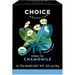 Choice Organic TeasChamomile Tea