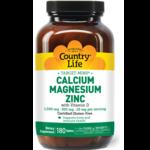 Country Life Target-Mins Calcium-Magnesium-Zinc
