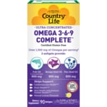 Country Life Ultra Concentrated Omega 3-6-9