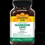 Country Life Cápsulas de magnesio con sílice Target-Mins