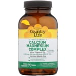 Country Life Calcium-Magnesium Complex with Vitamin D3
