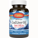 Carlson Super Cod Liver Oil Gems