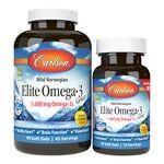 Carlson Elite Omega-3 Gems - Lemon
