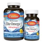 Carlson Elite Omega-3 Gems - Lemon Flavor