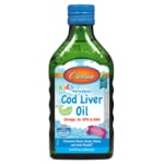 Carlson Kid's Norwegian Cod Liver Oil - Bubble Gum