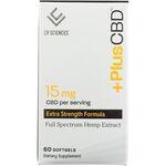 PlusCBD OilCBD Full Spectrum Hemp Extract - Extra Strength
