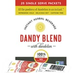 Dandy Blend Instant Herbal Beverage with Dandelion-Single Serve Pouches