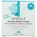 Derma E Psorzema Creme with Neem, Burdock, Bearberry and Vit A and E