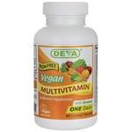 Deva Vegan Multivitamin & Mineral Iron Free